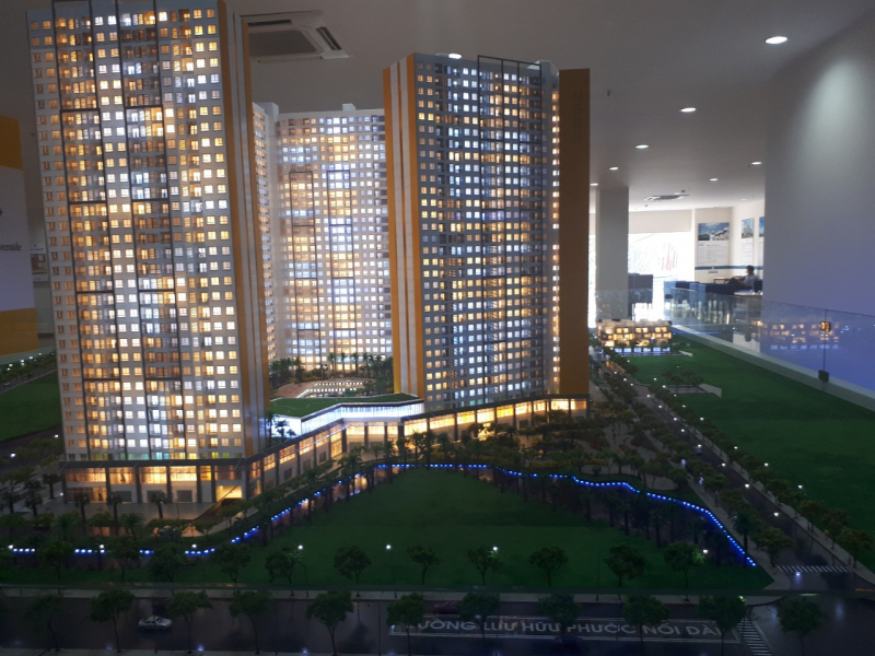 City Gate 3 mang đến cho người dùng không gian sống hiện đại