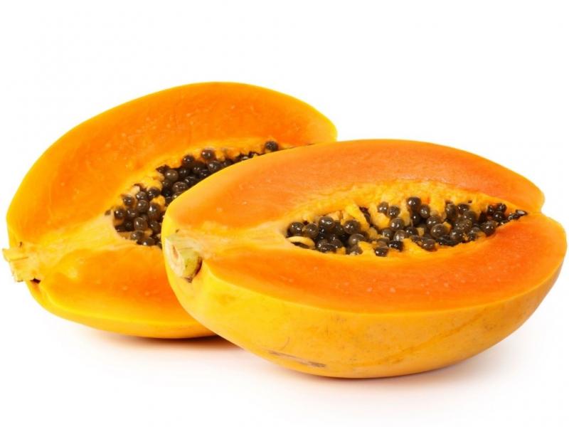 Đu đủ có chứa nhiều thành phần dinh dưỡng tốt cho da