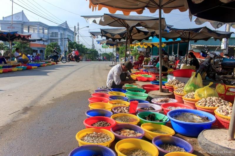 Du lịch biển Tân Thành