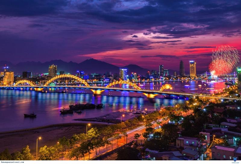 Vẻ đẹp của thành phố Đà Nẵng khi chiều buông