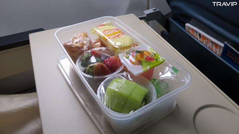 Dự phòng thức ăn mang theo là một phương án hữu ích