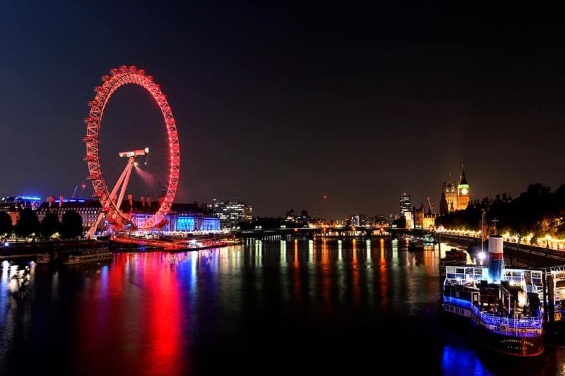 Đu quay khổng lồ Coca-Cola London Eye
