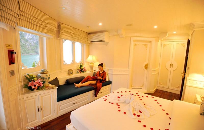 Phòng ngủ tạo không gian lãng mạn