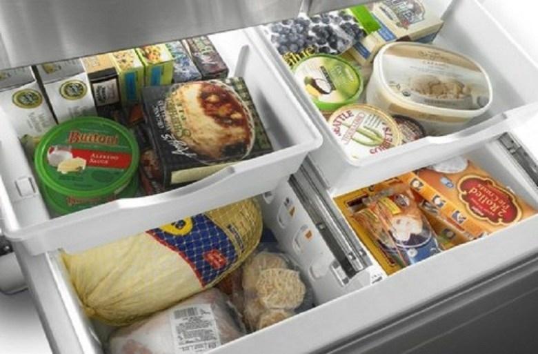 Dự trữ loại thực phẩm đông lạnh tốt cho sức khỏe
