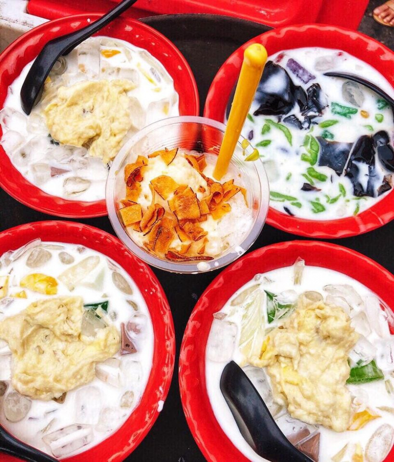 Dừa dầm Quỳnh Béo
