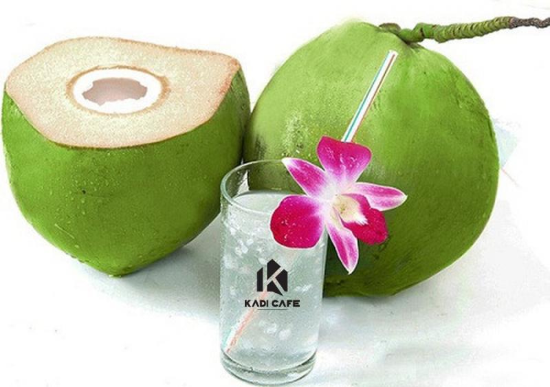 Mẹ bầu nên uống một cốc nước dừa mỗi ngày