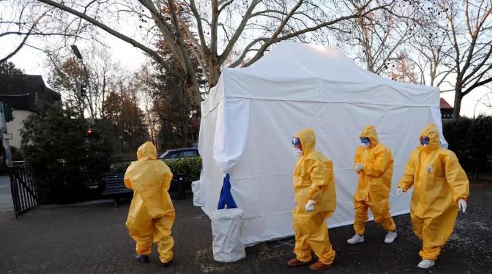 Đại dịch virut corona tại Đức