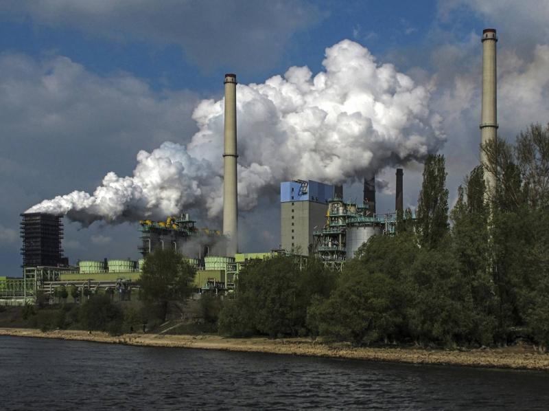Bức tranh đoạt giải thưởng quốc tế của một nhiếp ảnh gia về ô nhiễm khí thải ở Đức