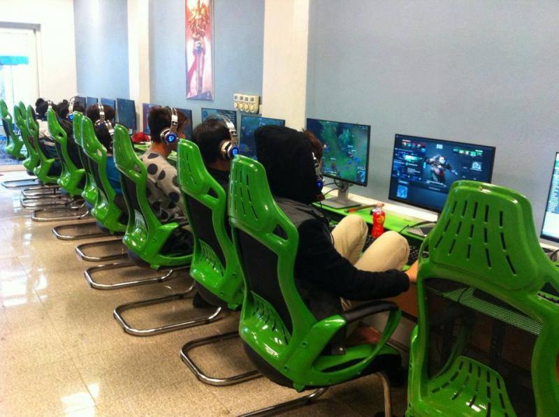 Ghế game phòng net giá tốt chất lượng cao tại Hà Nội