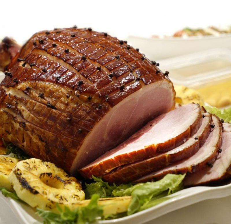Đùi lợn muối Giáng Sinh
