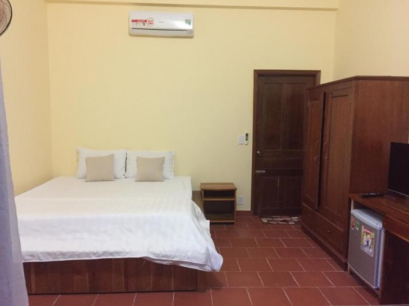 Phòng nghỉ đơn giản nhưng đầy đủ tiện nghi tại căn hộ Duke Resort