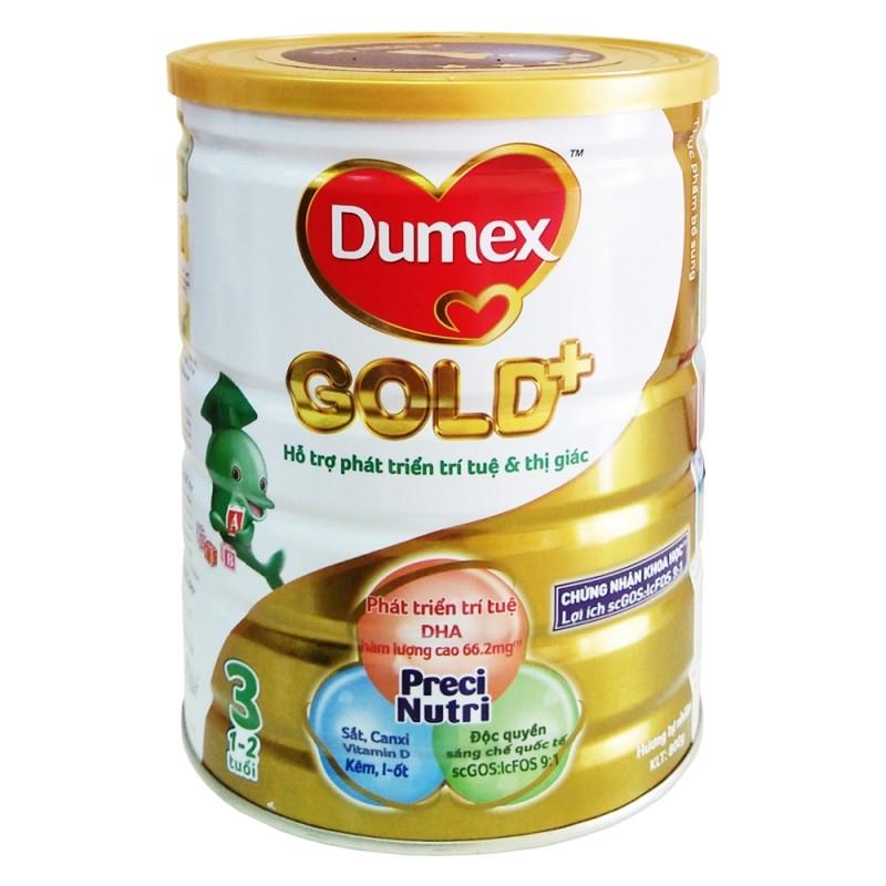 Dumex giúp tăng hệ miễn dịch bằng vi khuẩn có lợi trong đường ruột,