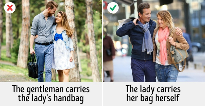 Hãy lo cho họ thay vì cầm túi sách