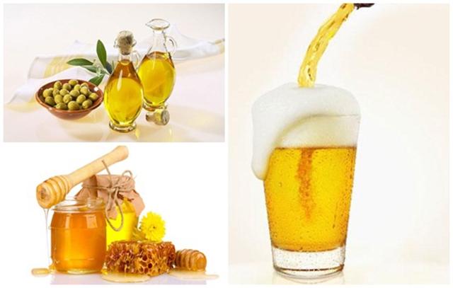 Dùng bia kết hợp với mật ong để tóc óng mượt hơn