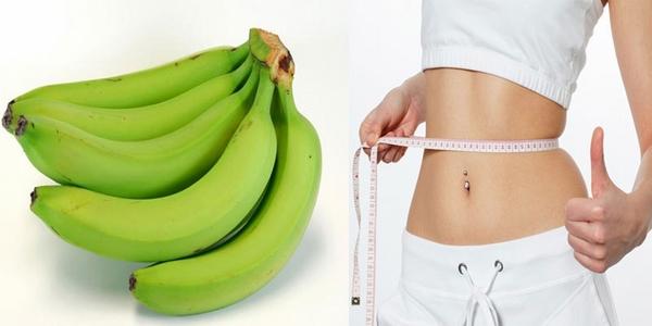 Chuối xanh, phương pháp giảm cân cho chị em hiệu quả và an toàn