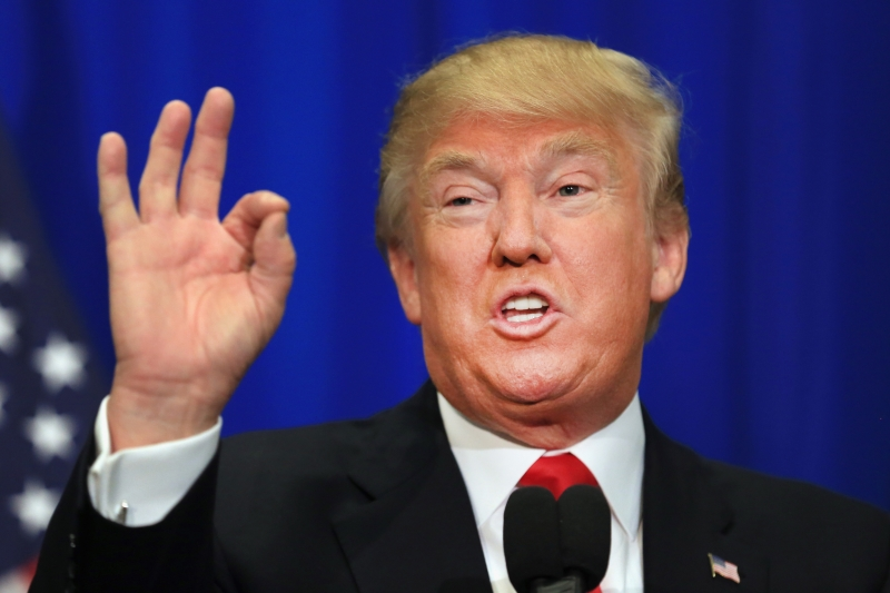 Donald Trump -  Tổng thống tân cử của Mỹ sau cuộc bầu cử tổng thống Mỹ lần thứ 58 vào ngày 8/11/2016.