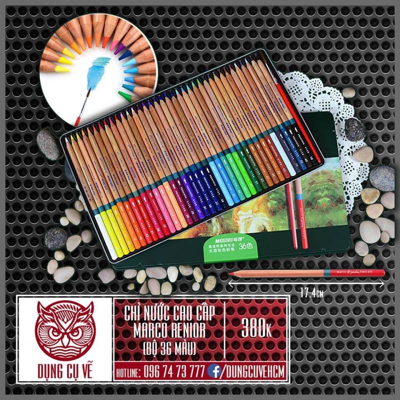 Chì màu nước Marco Renior được giới thiệu tại Dụng Cụ Vẽ