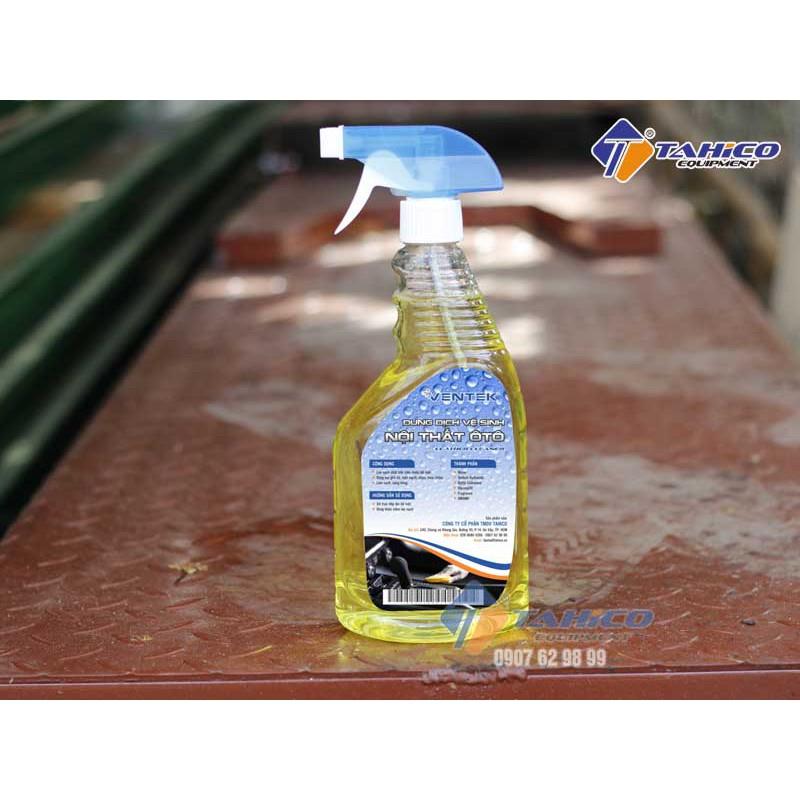 Dung dịch vệ sinh nội thất ô tô Ventek Interior Care