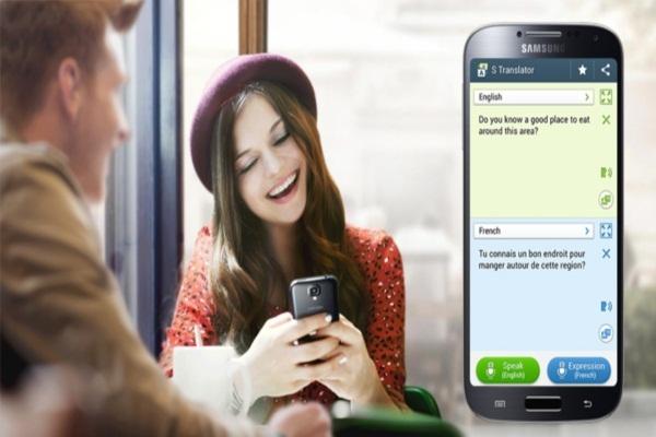 Dùng Google dịch trên điện thoại thông minh
