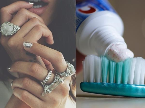 Dùng kem đánh răng