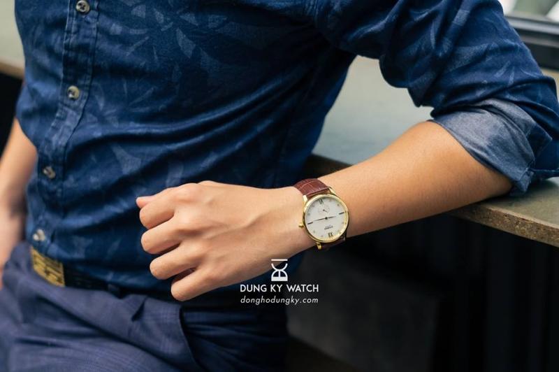 Phong cách với đồng hồ đeo tay Dũng Kỳ