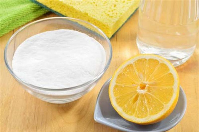 Cách dùng muối soda và chanh chỉ nên sử dụng đối với những máy giặt nhỏ