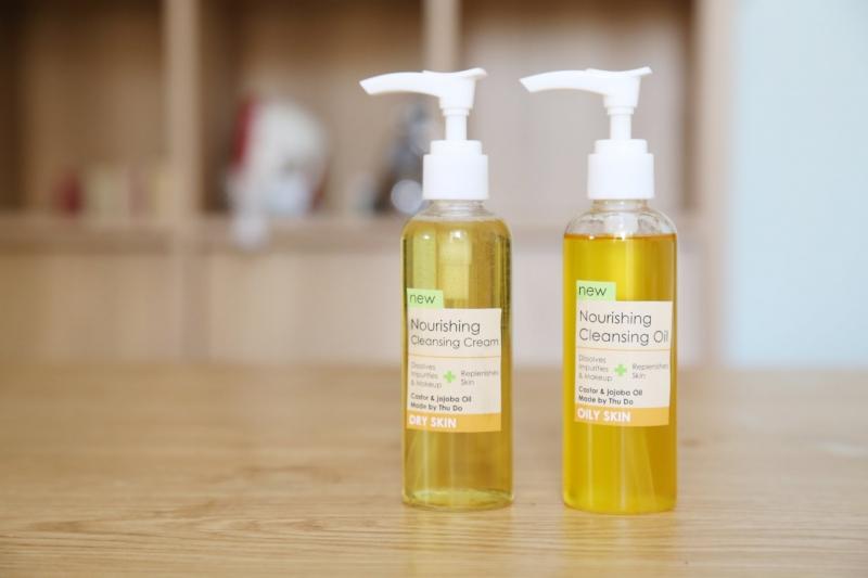 Dùng tinh dầu để rửa mặt