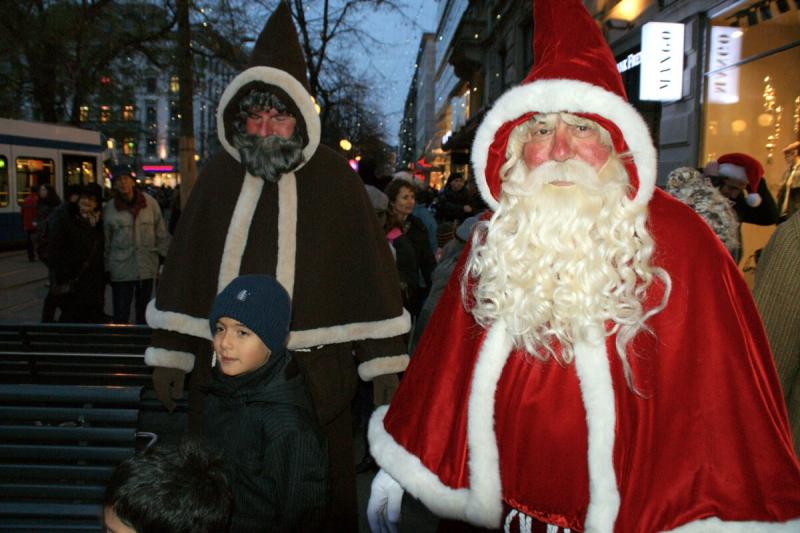 Đuổi theo ông già Noel ở Thụy Sĩ
