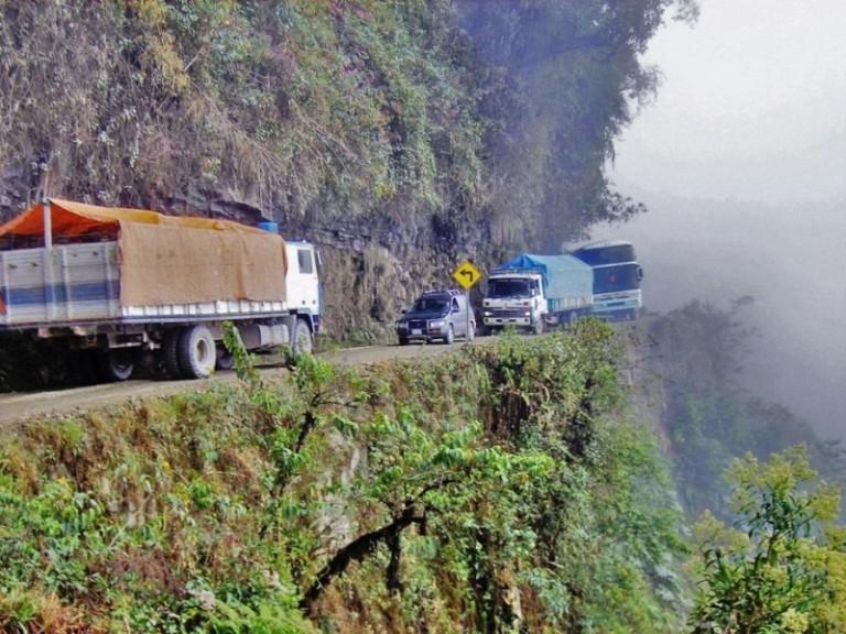 Đường Bắc Yungas, Bolivia