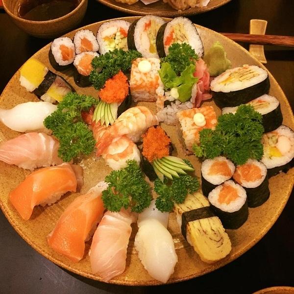 Sushi ngon không cưỡng nổi