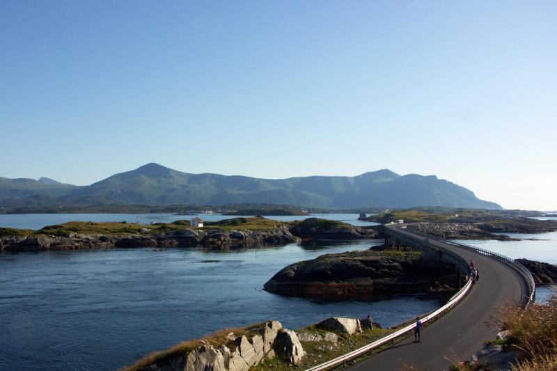 Đường Đại Tây Dương, Na Uy
