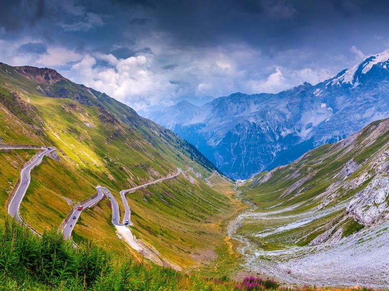 Đường đèo Stelvio – Ý