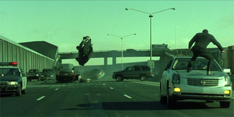 Đường đua xe - The Matrix Reloaded