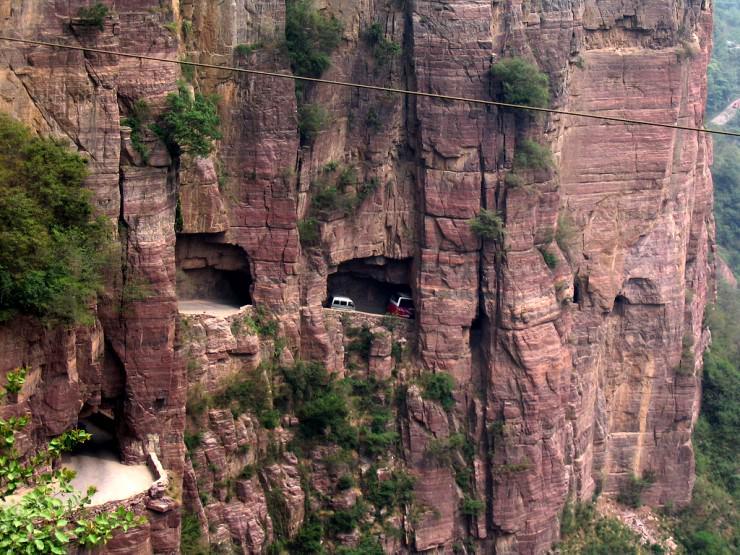 Đường hầm Guoliang – Trung Quốc được đặt theo tên của một ngôi làng