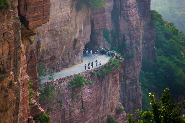 Đường hầm Guoliang – Trung Quốc đã có 5 người bị thiệt mạng trong quá trình đào hầm