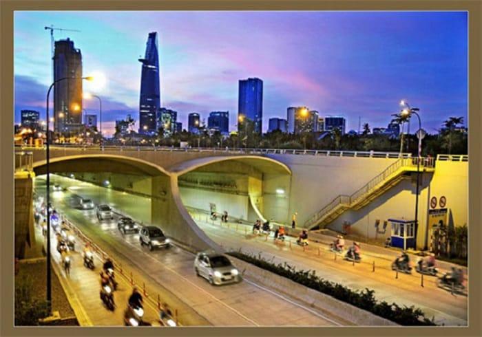 Đường hầm sông Sài Gòn hay còn gọi là hầm Thủ Thiêm