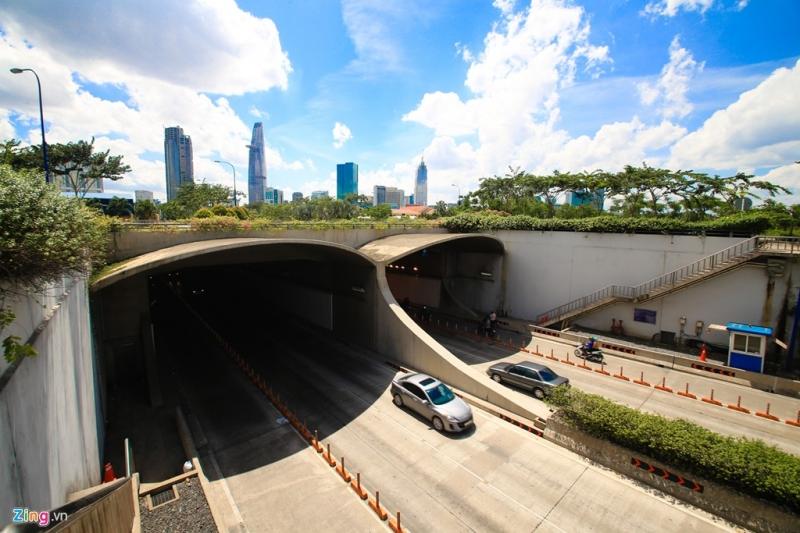 Đường hầm sông Sài Gòn