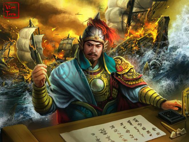 Trần Hưng Đạo được Thiên Bồng tướng quân cho mượn thuyền đánh giặc