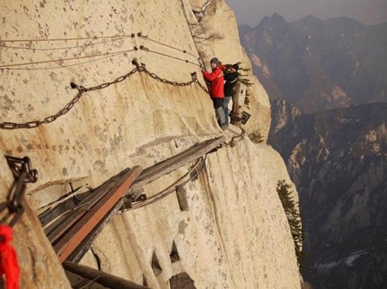 Đường lên núi Huashan, Trung Quốc