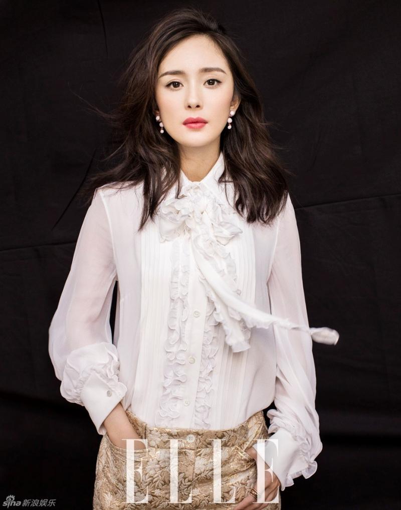Dương Mịch cá tính trên tạp chí thời trang