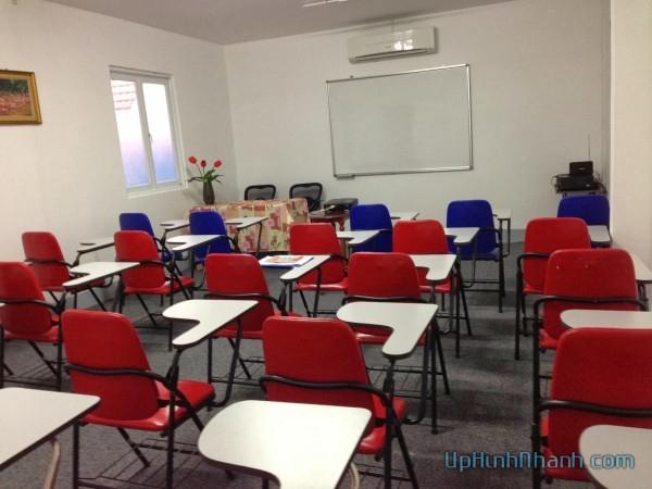 phòng học của trung tâm