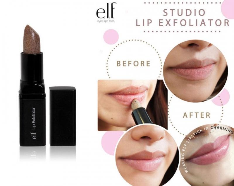 Tẩy da chết môi của ELF