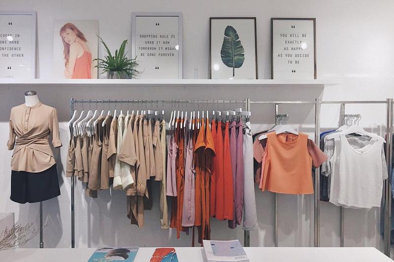 Nhiều cửa hàng thời trang có tiếng tại Nguyễn Trãi