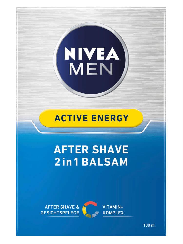 Dưỡng sau khi cạo râu Nivea Men Active Energy After Shave 2in1 Balsam