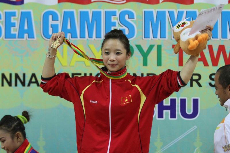 Niềm hi vọng vàng của wushu Việt Nam