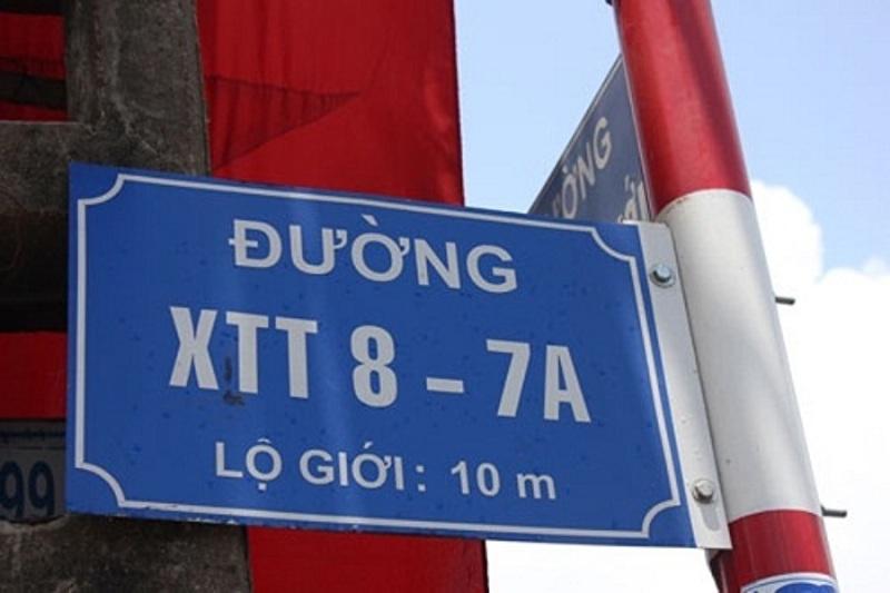 Đường XTT 8 - 7A