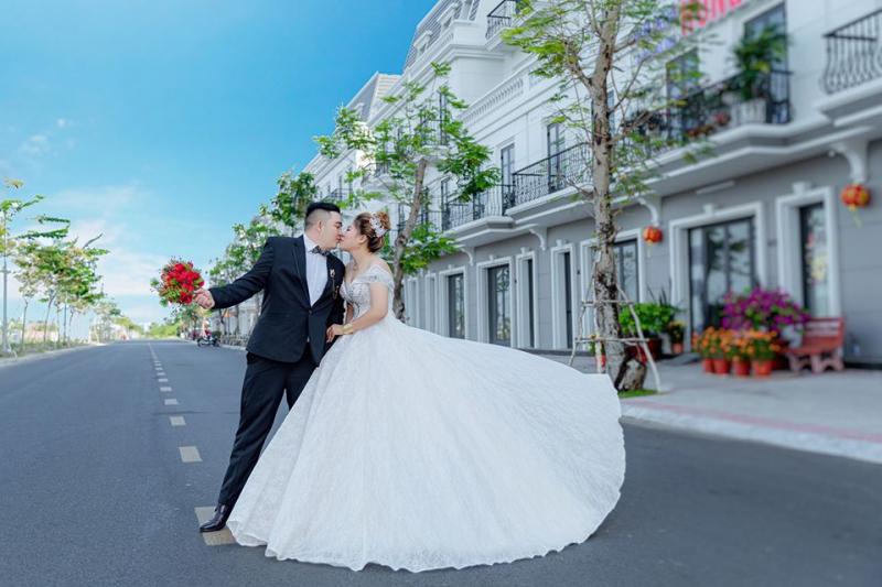 Ảnh cưới ngoại cảnh tại Duy Khoa Studio