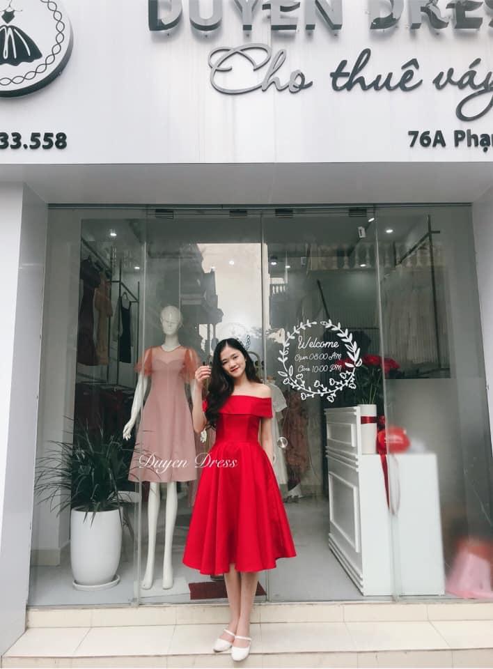 Duyên Dress là một trong những shop cho thuê đầm váy dự tiệc khiến nhiều khách hàng hài lòng và tin tưởng tuyệt đối