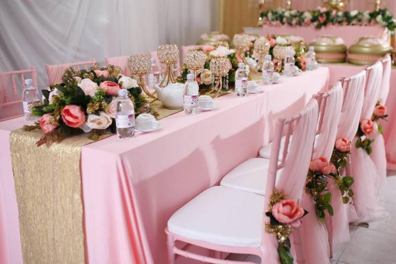 Dịch vụ trang trí tiệc cưới Minh Hùng