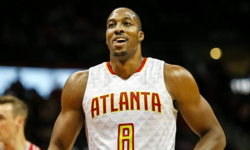 Dwight Howard mới chuyển sang chơi ở Atlanta Hawks